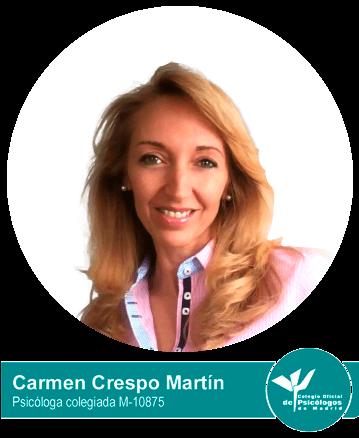 Psicóloga Carmen Crespo